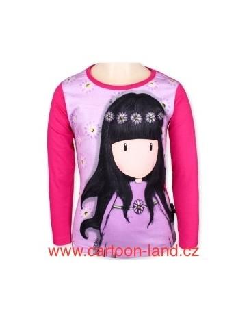 Dívčí tričko dlouhý rukáv Gorjuss