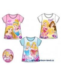 Dívčí tričko s krátkým rukávem Princezny Disney
