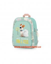 Dětský dívčí předškolní batoh Pets Disney