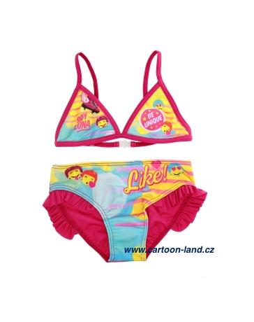 Dívčí dvoudílné plavky Soy Luna Disney
