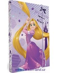 Box na sešity A4 Rapunzel