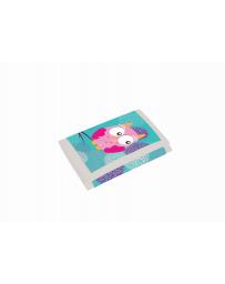 Dětská textilní peněženka Sova