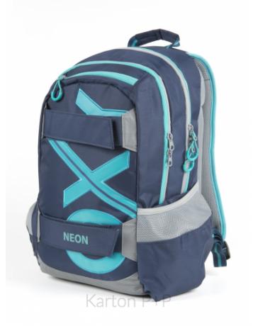Studentský batoh OXY Sport BLUE LINE Tyrkys