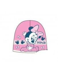 Dětská dívčí baby čepice růžová Minnie