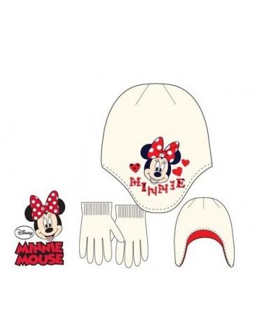 Set čepice rukavice Minnie Mouse dětské dívčí