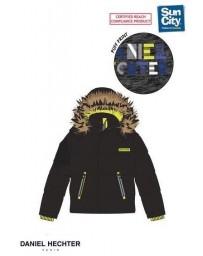 Dětská chlapecká bunda černá Naf Naf
