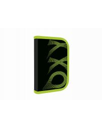 Penál 1patrový 2 chlopně  prázdný OXY Wind Green