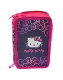 Penál 2 p. naplněný Hello Kitty KIDS