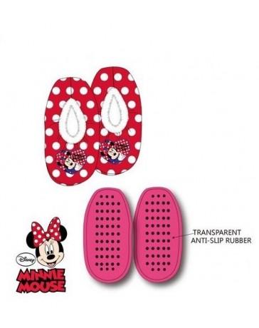Bačkory červená Minnie Disney