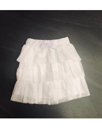 Divčí letní sukně bílá Viollen