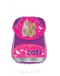 Školní batoh KLASIK kočka