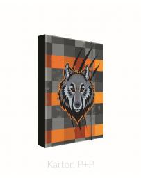 Box na sešity A5 vlk