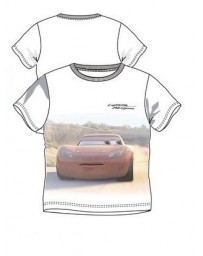 Dětské chlapecké tričko krátký rukáv Cars Auta McQueen Disney