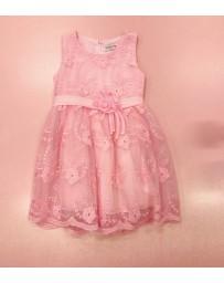 Dívčí šaty slavnostní společenské růžové