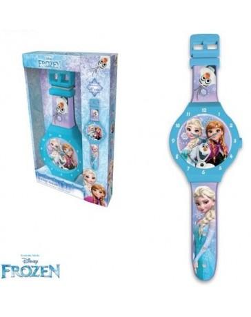 Nástěnné hodiny Frozen.
