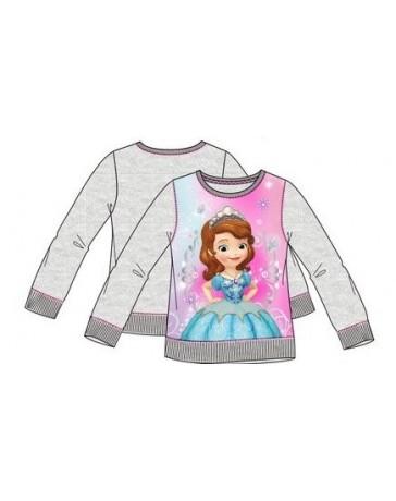 Dívčí svetr dlouhý rukáv Sofie Disney.