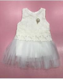 Šaty slavnostní bílé Allegrose