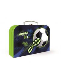 Kufřík lamino 34 cm fotbal