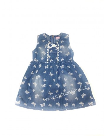Dětské holčíčí šaty modré