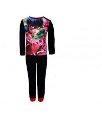 Dětské dívčí pyžamo Kouzelná beruška černá