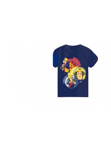 Chlapecké triko - SETINO Požárník Sam modré