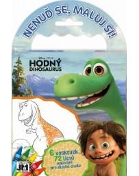 Omalovánky na cesty Hodný dinosaurus