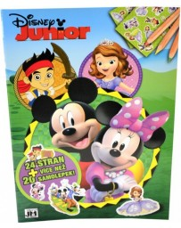 Omalovánky A4+ Disney Junior