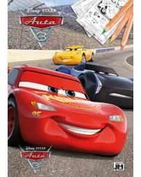 Omalovánky A4+ AUTA CARS