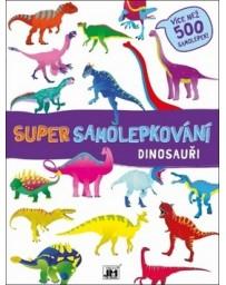Super samolepkování Dinosauří