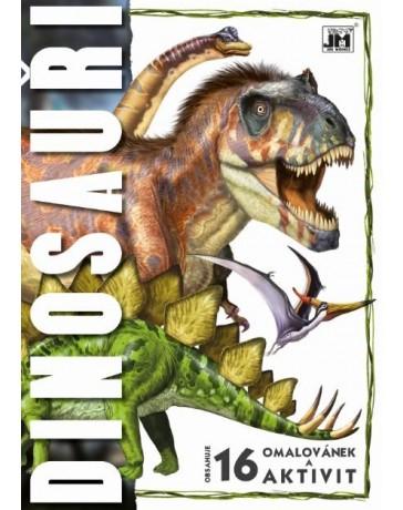 Omalovánky A4 Dinosauři