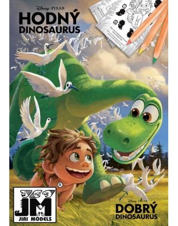 Omalovánky A4 Hodný dinosaurus