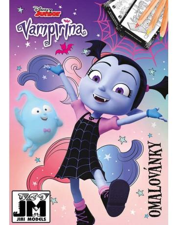 Vampirina Omalovánky A4