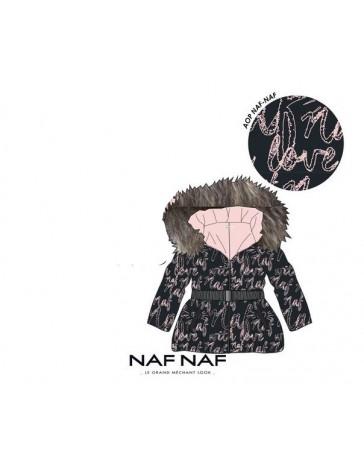 Dívčí dětská zimní bunda NAF NAF