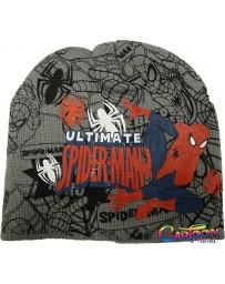 Čepice Spiderman zimní šedá