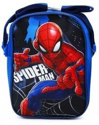 Chlapecká taška přes rameno crossbody Spideman modrá