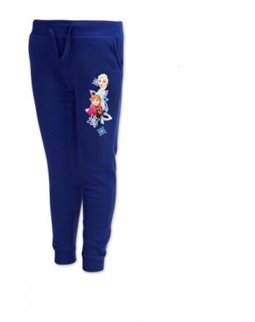 Dívčí tepláky Frozen modré Setino