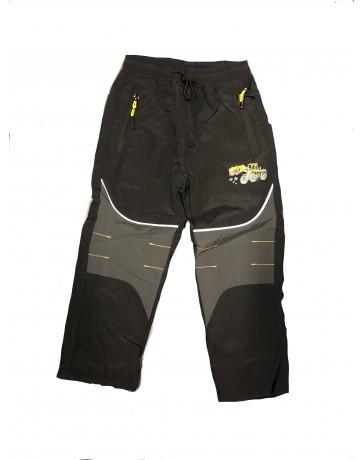 Chlapecké šusťákové kalhoty černé