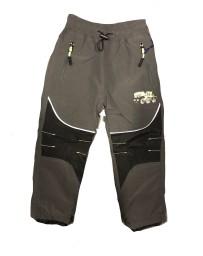 Chlapecké šusťákové kalhoty šedé