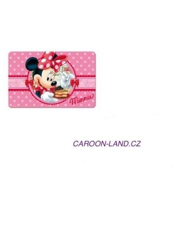 3D podložka s motivem Disney Minnie růžová