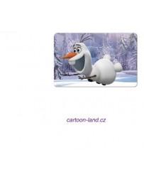 3D podložka s motivem Frozen Olaf Ledové království
