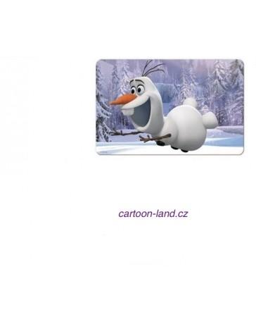 3D podložka s motivem Disney Frozen Olaf