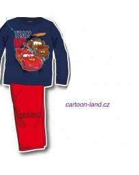 Pyžamo Cars Disney modro-červená