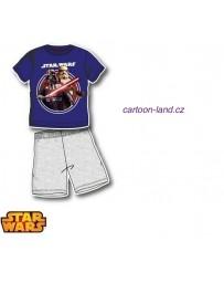 Pyžamo Star Wars Disney modro-šedá