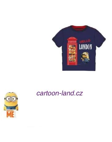 Chlapecké tričko kratký rukáv Mimoní Disney.
