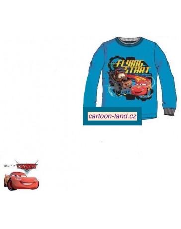 Chlapecké tričko dlouhý rukáv Cars Auta Disney