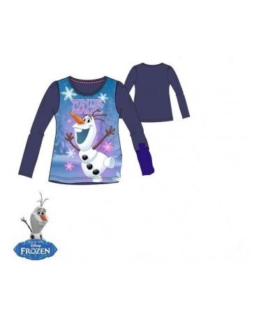 Dívčí tričko Frozen Ledové království Olaf Disney