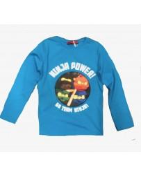 Dětské tričko Ninja modré blikající