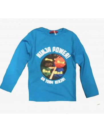 Dětské tričko Ninja modré svítící