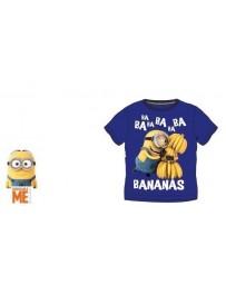 Dětské tričko Mimoni Minions kratký rukáv modré