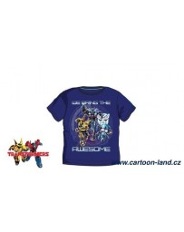 Chlapecké tričko Transformers  krátký rúkav tmavé modré